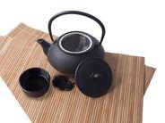 Teekanne Gusseisen schwarz 0.8 Liter