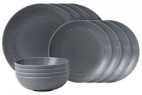 Gordon Ramsay Serviesset Maze Grey 12-Delig