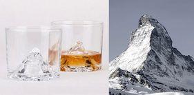 Matterhorn Mountain Glas