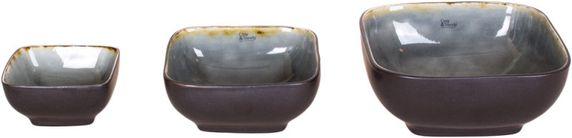 Cosy & Trendy Soepkom Laguna Blue Grey 14 x 14 cm