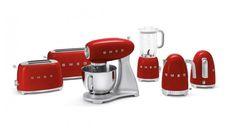 SMEG Küchenmaschine Rot SMF01RDEU