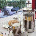 Alessi cafetiere 9094/3 door Aldo Rossi