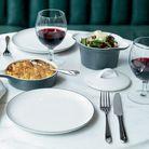 Royal Doulton Gordon Ramsay Bread Street dinerbord ø 27cm - wit