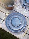 Cosy & Trendy Quintana 18-delige serviesset - blue