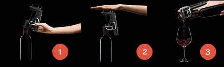 Coravin Model Two wijnsysteem - metallic blauw - Limited Edition