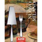 Alessi Nuovo Milano 13-delige gebaksset 5180S13 door Ettore Sottsass