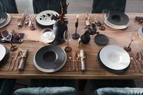 Villeroy & Boch Manufacture Rock dinerbord ø 27cm - zwart