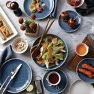 Royal Doulton Maze Grill 16 delige serviesset - blauw
