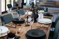 Villeroy & Boch Manufacture Rock pizzabord ø 31.5cm - zwart