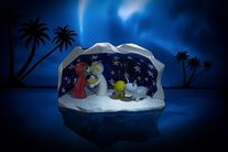 Alessi Kerstfiguren Happy Eternity Baby AGJ01 3 Door Massimo Giacon & Marcello Jori