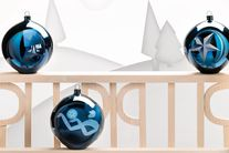 Alessi Blue Christmas Stella kerstbal AAA07/1