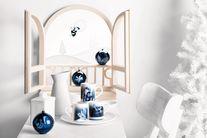 Alessi Blue Christmas Ballerina kerstfiguur AAA08/2 door LPWK Antonio Aricò