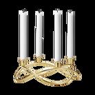 Georg Jensen Maria Berntsen kandelaar voor 4 kaarsen - goud
