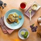 Royal Doulton 1815 ontbijtbord ø 23cm -  set van 4