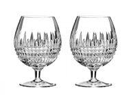 Waterford Lismore Diamond cognacglas - set van 2