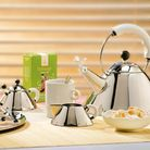 Alessi fluitketel 9093 W door Michael Graves - wit