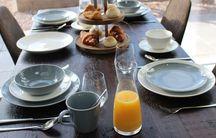 Royal Doulton Gordon Ramsay Maze ontbijtbord ø 22cm - dark grey