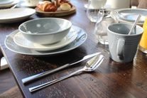 Royal Doulton Gordon Ramsay Maze 12-delige serviesset - dark grey