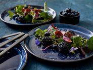 Bitz bord ø 21cm - donkerblauw