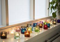 Iittala Kivi Sfeerlicht Lichtroze 60 mm