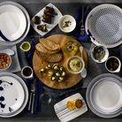 Royal Doulton Pacific ontbijtborden ø 23cm - 6 stuks