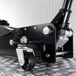Hydraulische autokrik - 2,5 ton + Verrijdbare garage ligkar extra lang 16