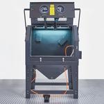 Zandstraalapparaat met afzuiging 1000 liter