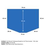 Hogedruk onderdelenreiniger met thermostaat 1