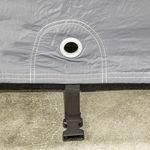 Autohoes voor buitenstalling met fleece binnenlaag - S 4