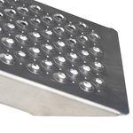 Aluminium rijplanken geperforeerd 250 cm