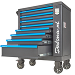 Gevulde gereedschapswagen met cijferslot Ultimate PRO 8 lades 5 lades gevuld 1