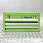 groene kist 3 lades gevuld 51101 green 3