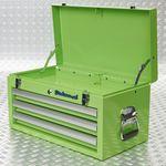 groene gereedschapskoffer met klep 51101 green