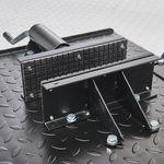 Zwarte motorheftafel 450 kg standaard klem
