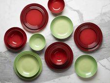 Le_creuset_borden_groen_rood.jpg