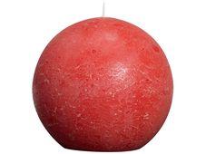 Bolsius bolkaars Rustiek rood Ø 145 mm