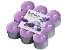 Bolsius geurlichten Aromatic French Lavender - 18 stuks