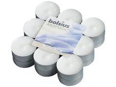 Bolsius geurlichten Aromatic Fresh Linen - 18 stuks