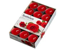 Bolsius geurlichten Aromatic Velvet Rose - 30 stuks