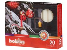 Bolsius kerstboomkaarsjes ivoor