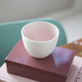 Villeroy Boch Koffiekop Its my Match Roze Leaf