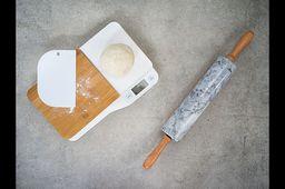 Cosy Trendy Keukenweegschaal Hout