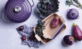 Le Creuset mini braadpan ultra violet sfeer
