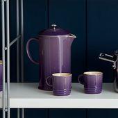 Le Creuset cafetière ultra violet 0.8 liter sfeer
