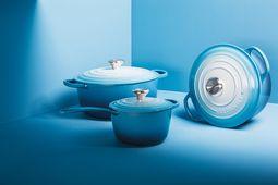 Le Creuset theepot ombre blauw 1.3 liter sfeer