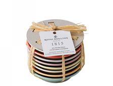 Royal Doulton Schotels 1815 Bright Colours 9 cm - 8 Stuks