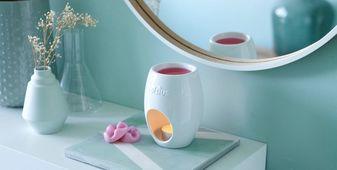 Bolsius brander Aromatic Ellips wit sfeer