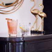 Cristal d'Arques whiskyglazen Rendez-Vous 32 cl - 4 stuks sfeer