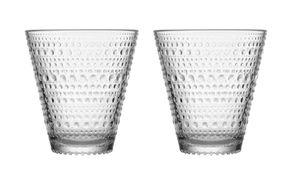 Iittala Kastehelmi glas 30cl helder - 2 stuks