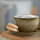 Leonardo Koffiekop Matera Beige 29 cl sfeer2